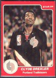 1983-84 Star #100 Clyde Drexler XRC