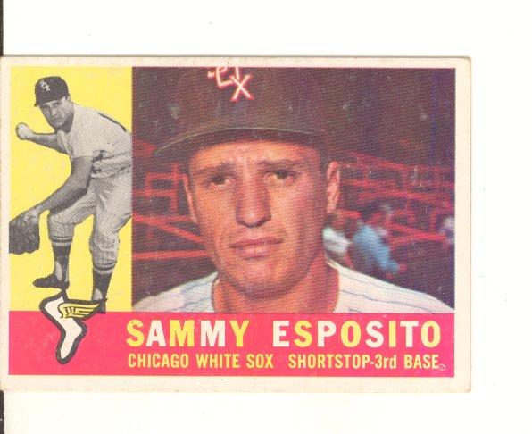 1960 Topps #31 Sammy Esposito