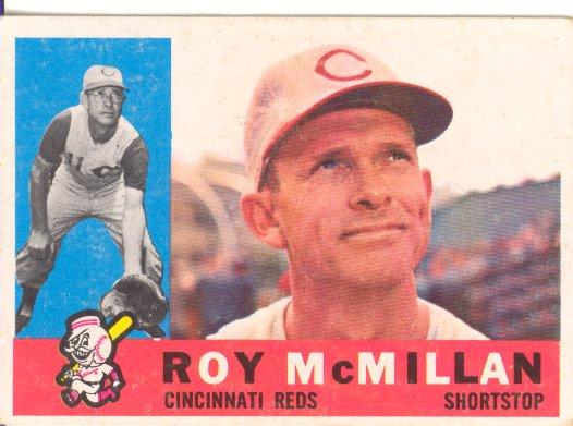 1960 Topps #45 Roy McMillan
