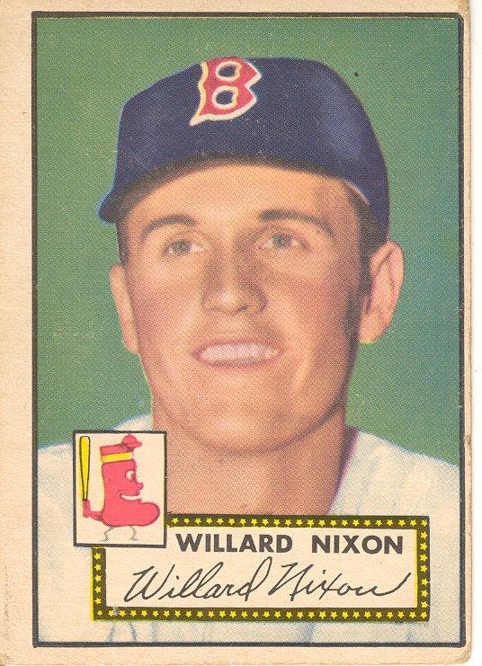1952 Topps #269 Willard Nixon