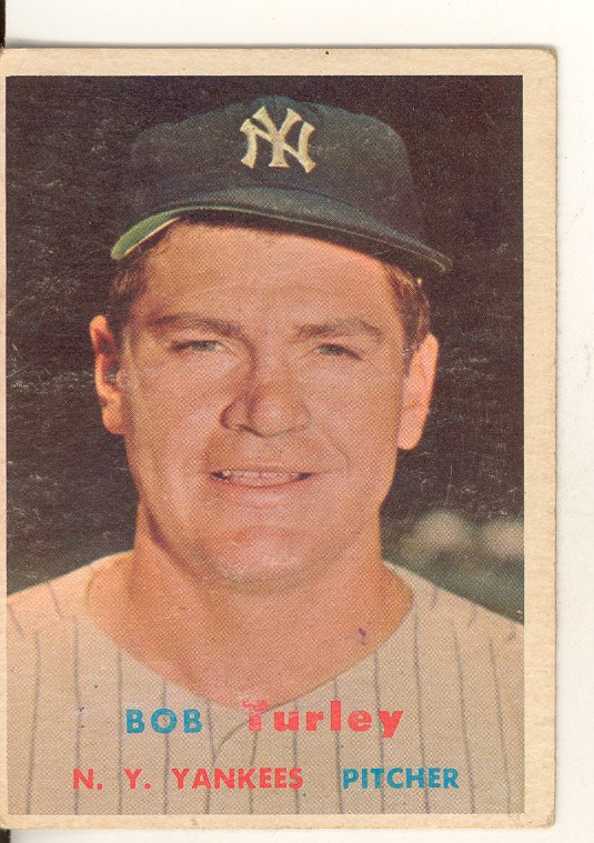 1957 Topps #264 Bob Turley