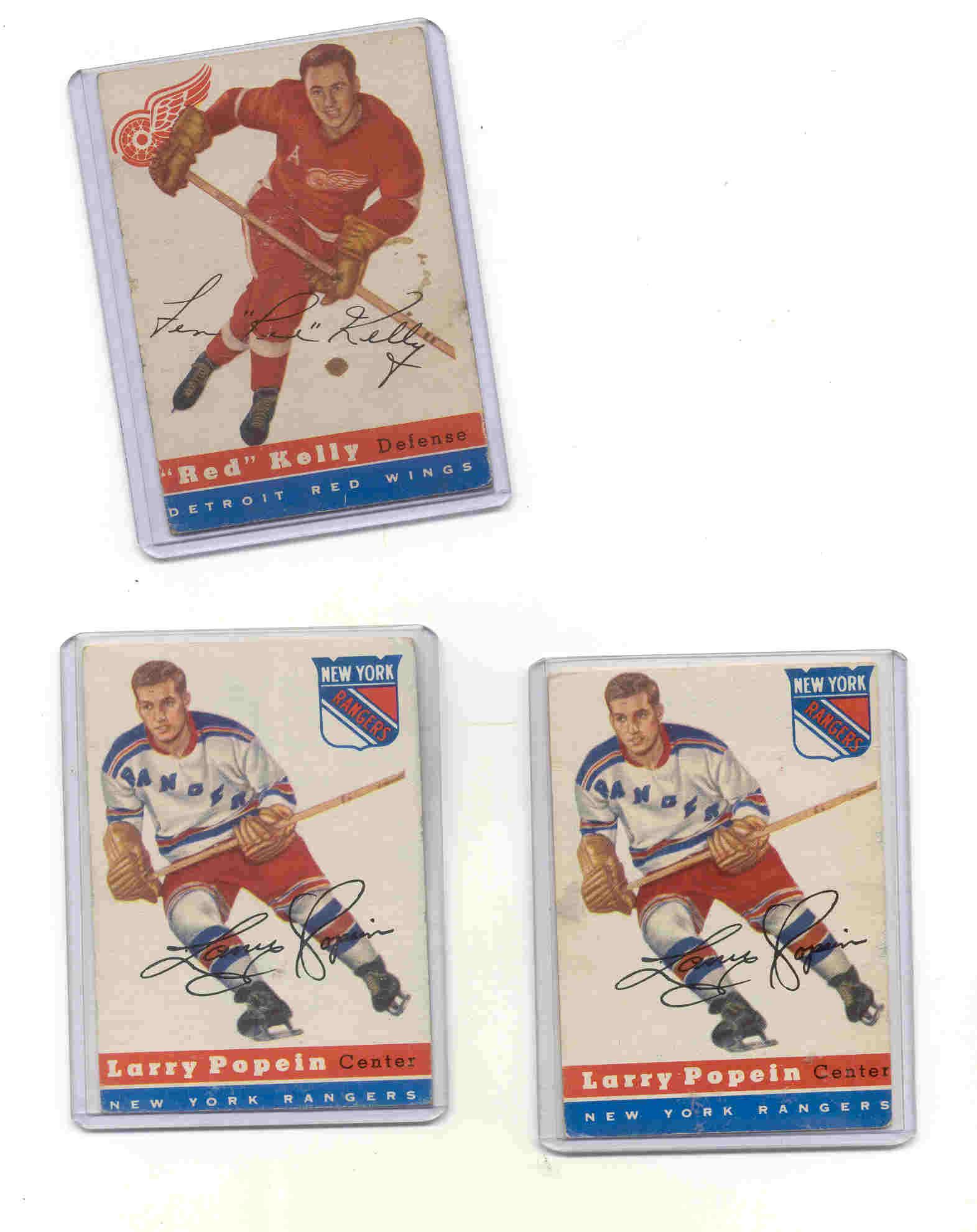 1954-55 Topps #55 Larry Popein RC
