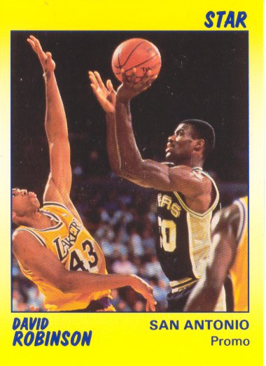 1990-91 Star Promos #12 David Robinson I