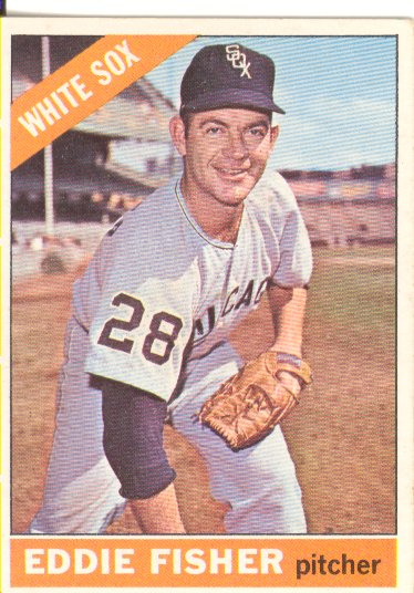 1966 Topps #85 Eddie Fisher