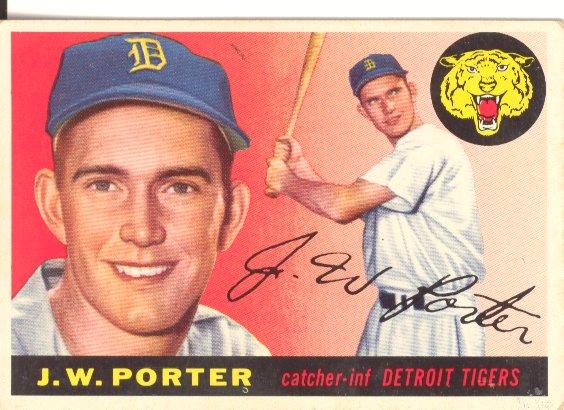 1955 Topps #49 J.W. Porter