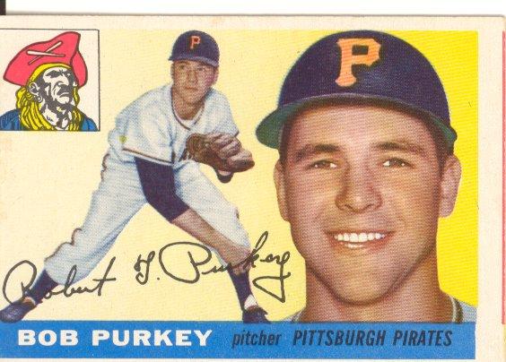 1955 Topps #118 Bob Purkey