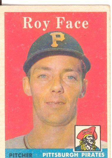 1958 Topps #74 Roy Face