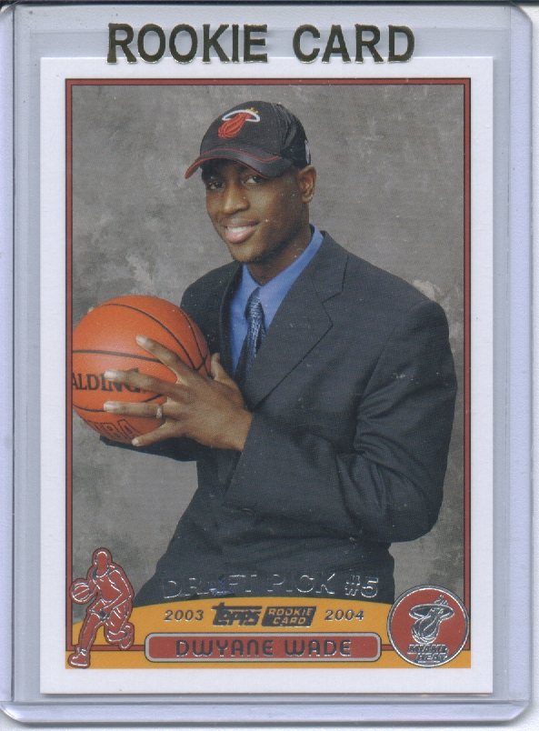 2003-04 Topps #225 Dwyane Wade RC