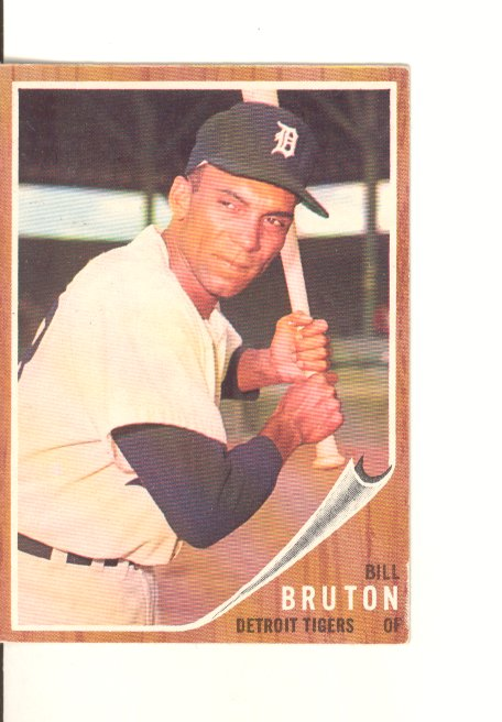 1962 Topps #335 Bill Bruton
