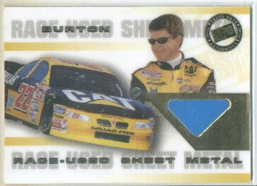2000 VIP Sheet Metal #SM1 Ward Burton