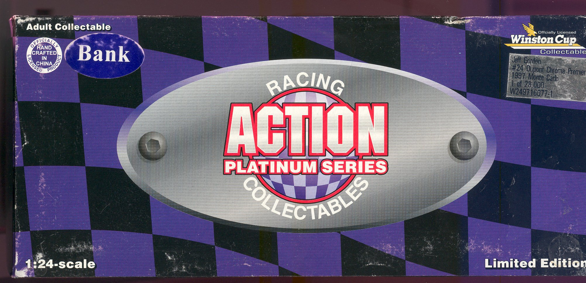 1997 Action Racing Collectables 1:24 #24 J.Gordon/DuPont Mill.$ Date Bank