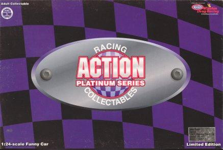 1997 Action/RCCA Funny Car 1:24 #NNO J.Force/Castrol GTX Mustang