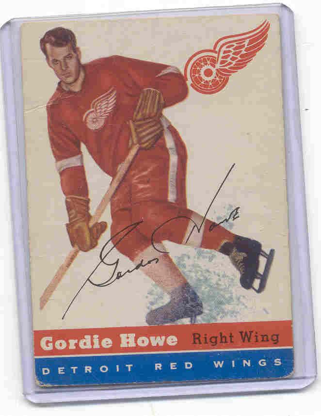 1954-55 Topps #8 Gordie Howe