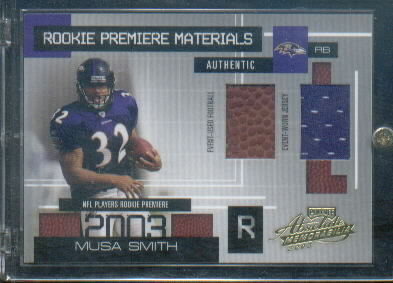 2003 Absolute Memorabilia #163 Musa Smith RPM RC