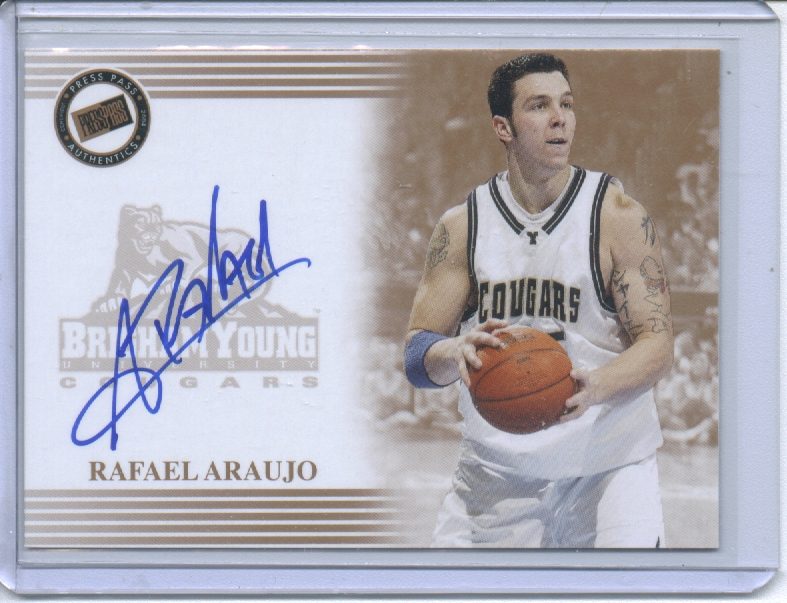 2004 Press Pass Autographs #2 Rafael Araujo