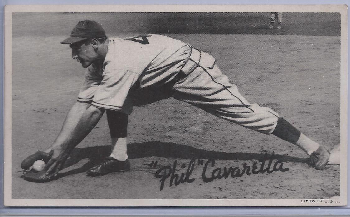 1936 Goudey Wide Pen Premiums R314 #A16 Phil Cavarretta
