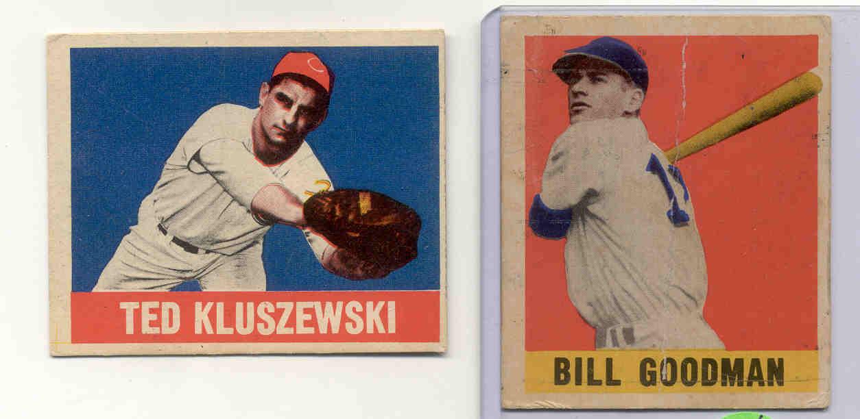 1949 Leaf #38 Ted Kluszewski RC