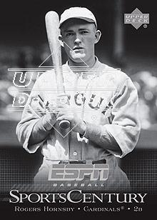 2005 Upper Deck ESPN Sports Century #SC15 Rogers Hornsby