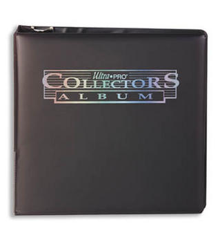 Ultra Pro Collector's 3-Ring Binder Album - Black Print
