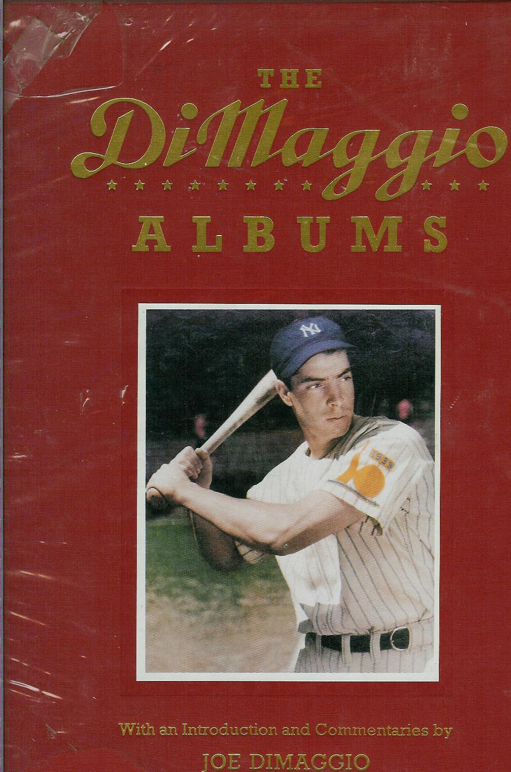 JOE DiMAGGIO ALBUMS - BOOK