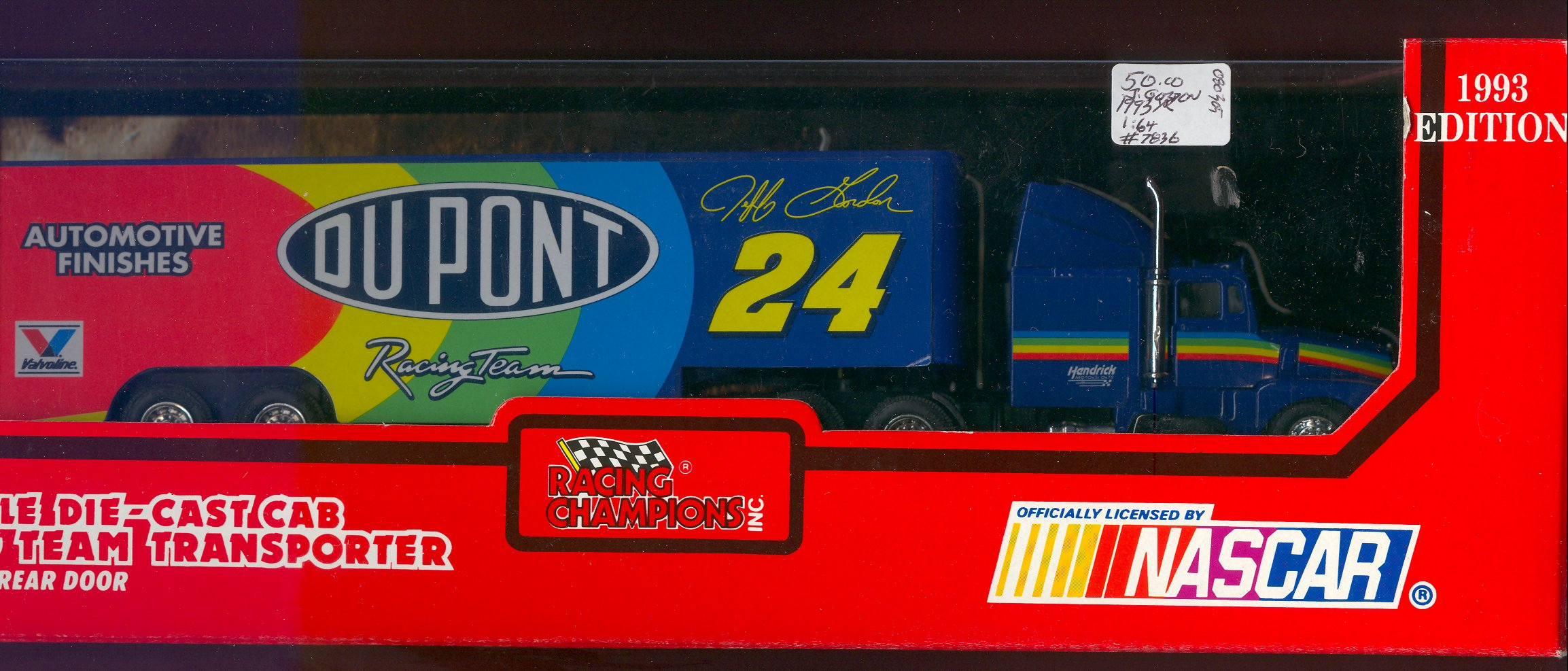 1993 Racing Champions Transporters 1:64 #24 J.Gordon/DuPont