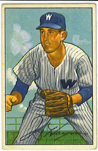 1952 Bowman #103 Joe Haynes