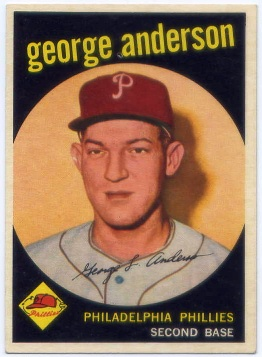 1959 Topps #338 Sparky Anderson RC
