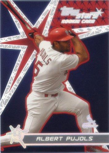 2001 Topps Stars #198 Albert Pujols RC