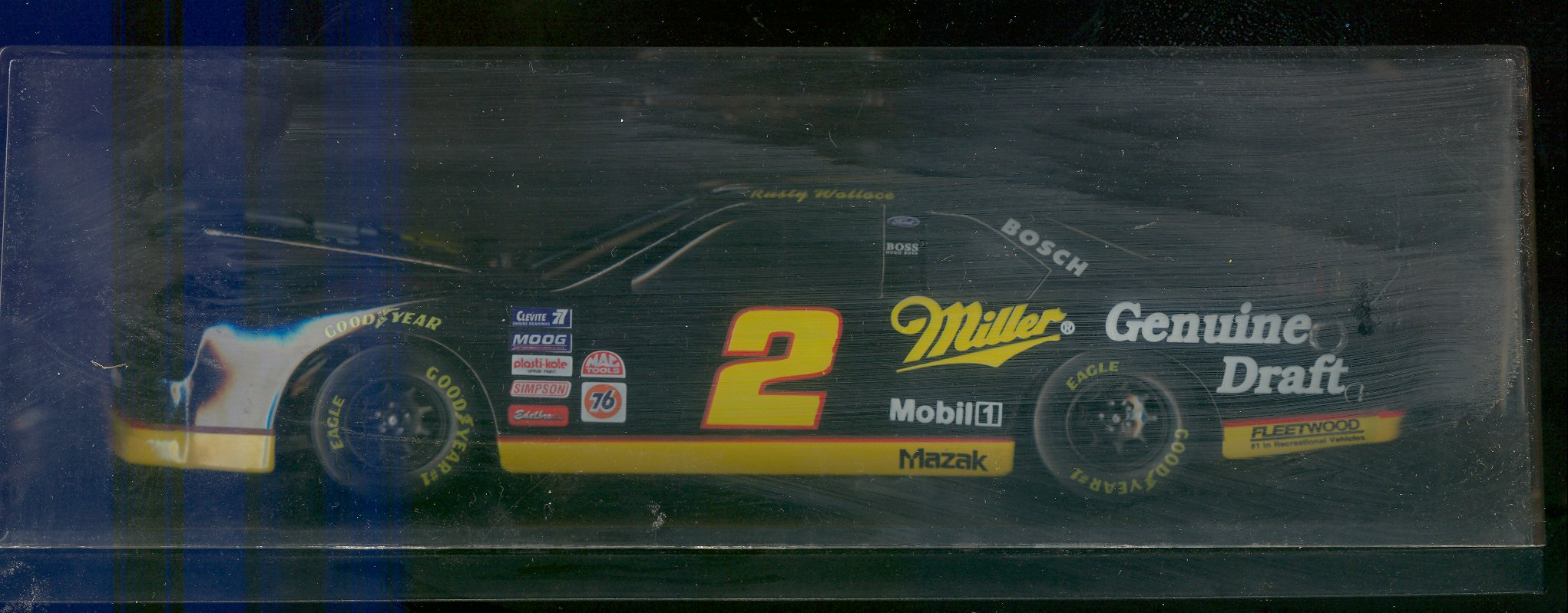 1995 Action Racing Collectables 1:24 #2 R.Wallace/MGD Bank/15,000