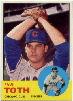 1963 Topps #489 Paul Toth RC