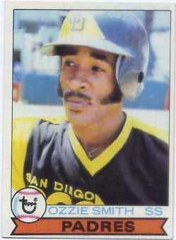 1979 Topps #116 Ozzie Smith RC