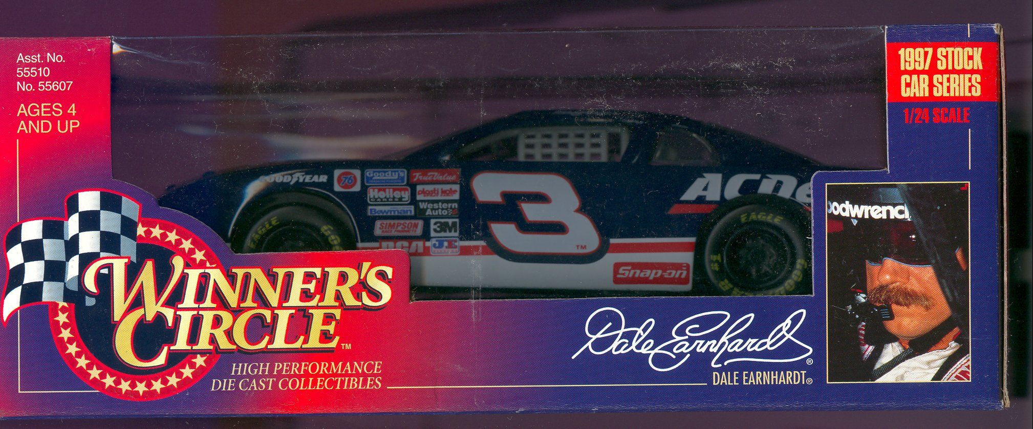 1996 Winner's Circle 1:24 #3 D.Earnhardt/Goodwrench