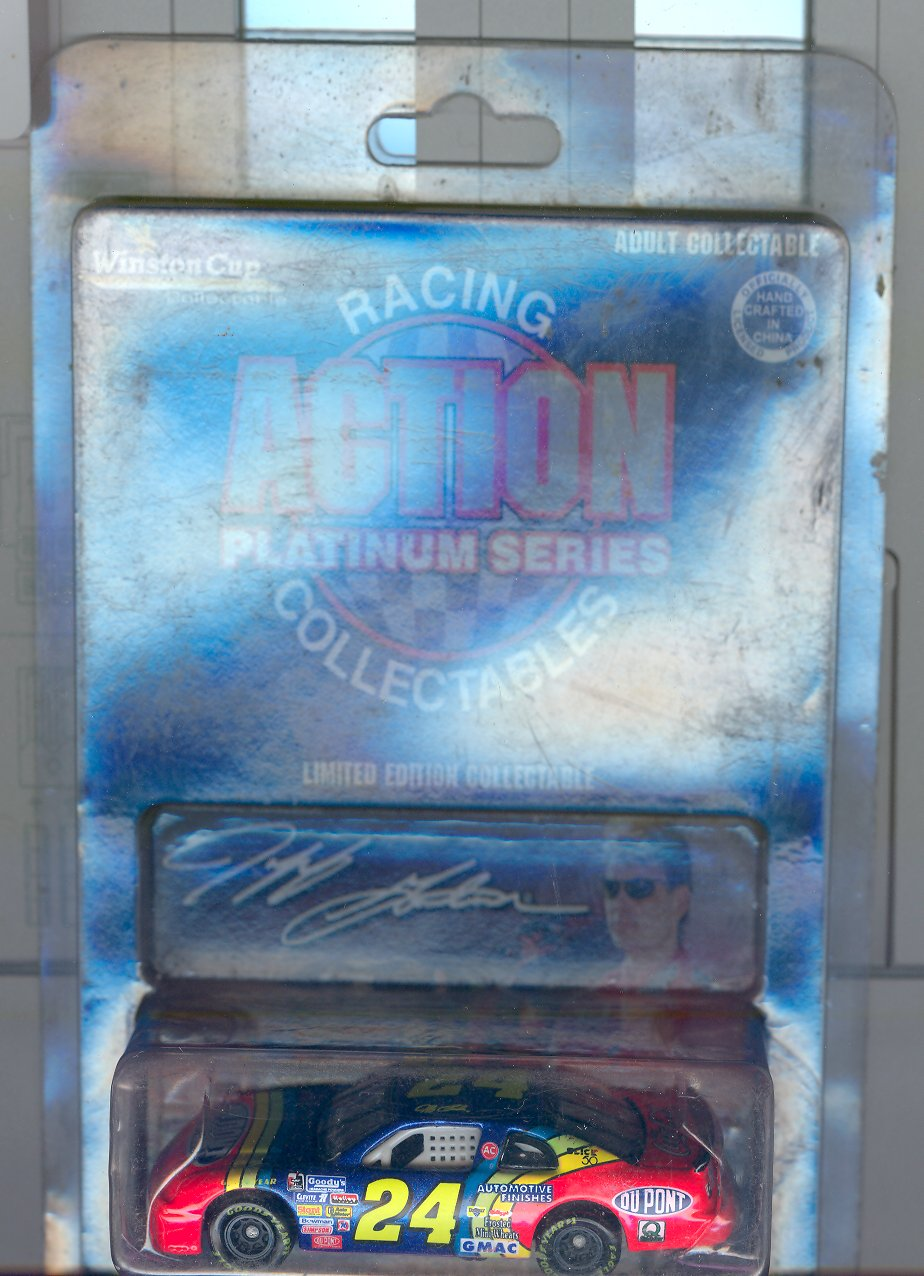 1996 Action Racing Collectables 1:64 #24 J.Gordon/DuPont