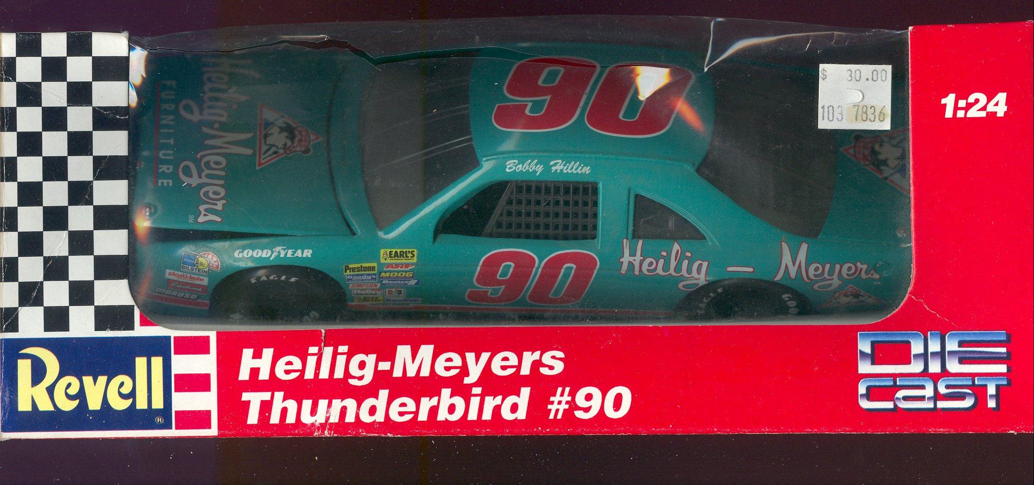 1991-95 Revell 1:24 #90 B.Hillin/Heilig-Meyers