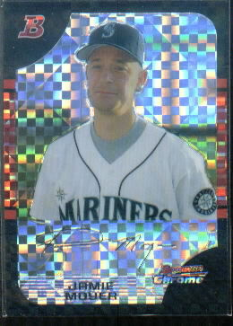 2005 Bowman Chrome X-Fractors #61 Jamie Moyer