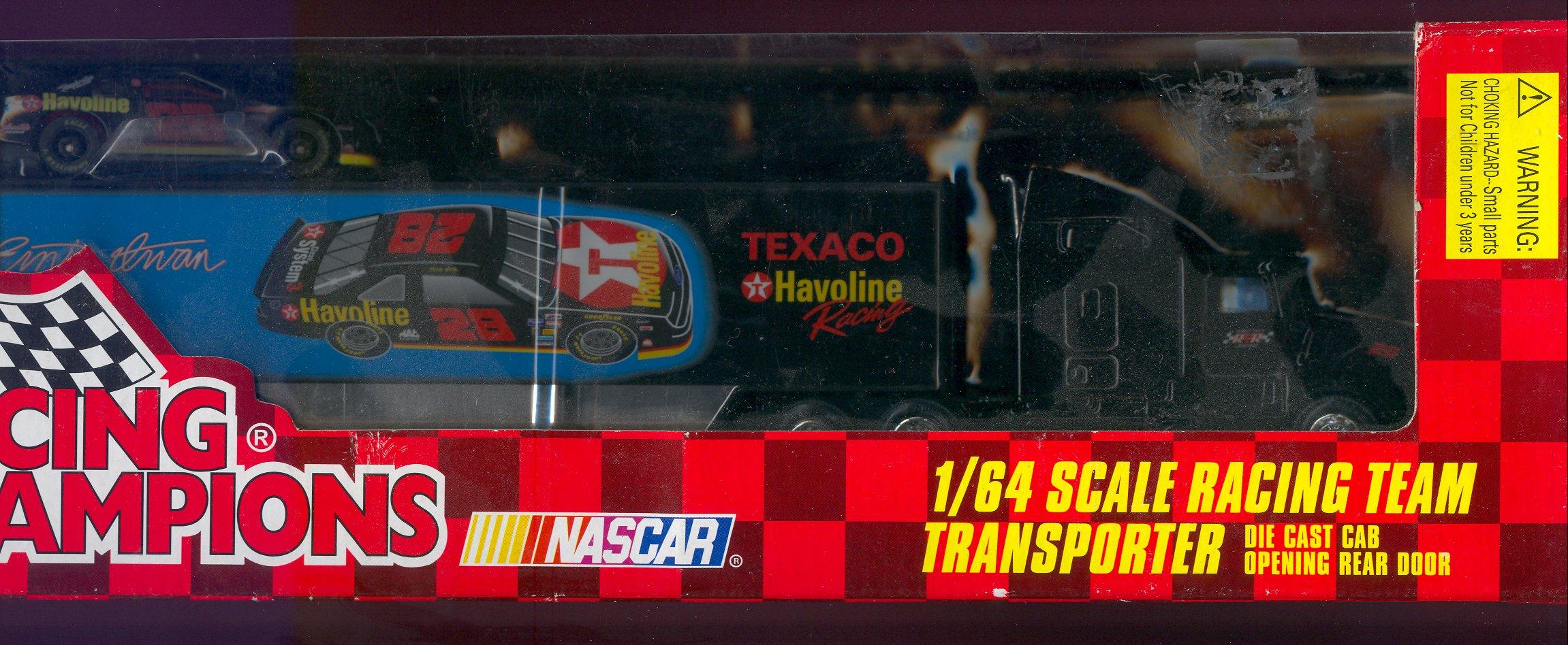 1996 Racing Champions Transporters 1:64 #28  E.Irvan/Havoline w/car(s)