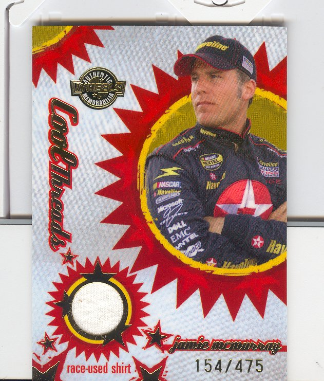 2005 Wheels American Thunder Cool Threads #CT10 Jamie Mcmurray