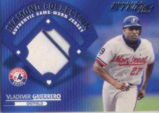 2001 Studio Diamond Collection #DC1 Vladimir Guerrero