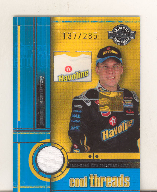 2003 Wheels American Thunder Cool Threads #CT8 Jamie McMurray