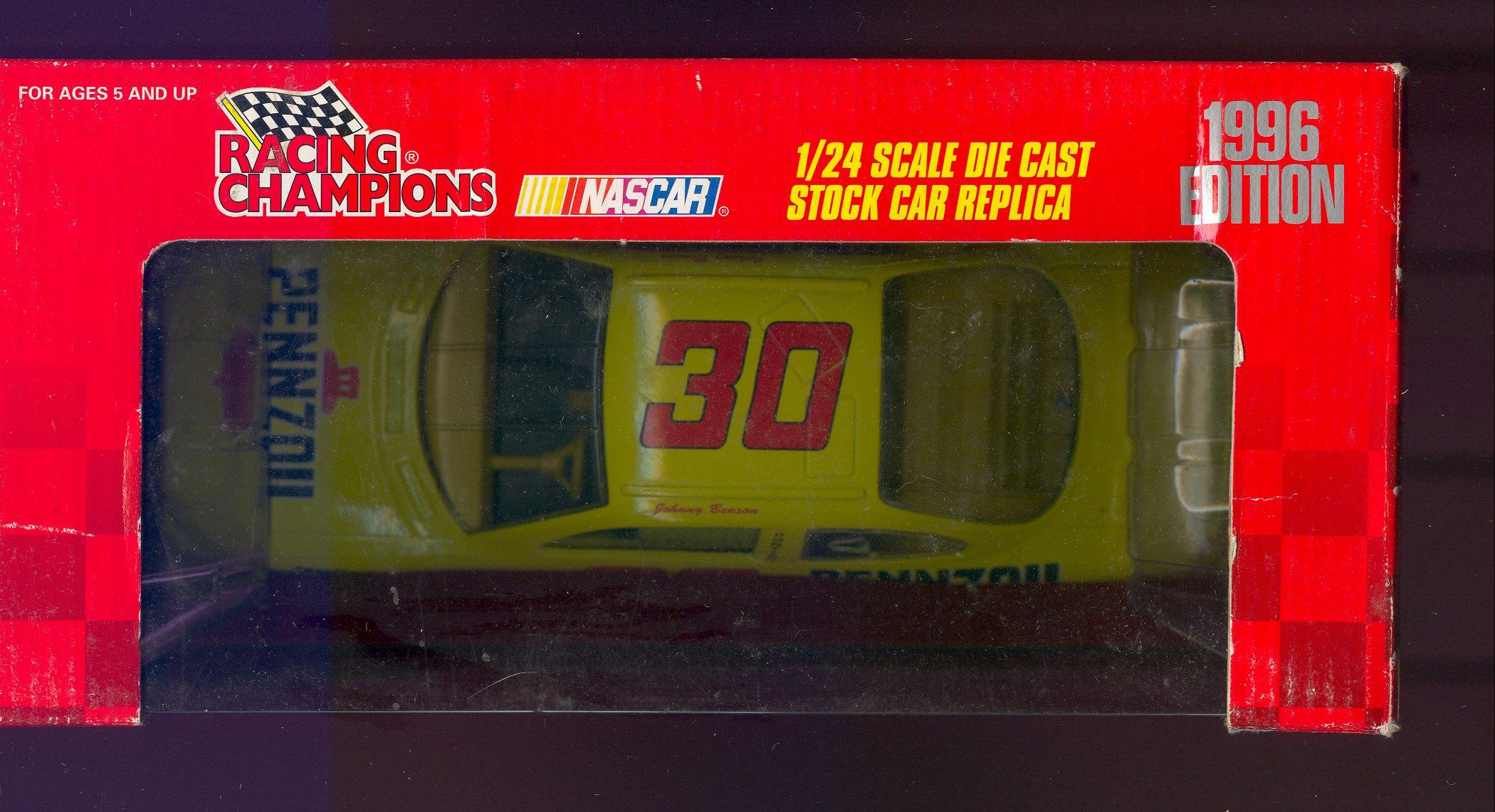 1996 Racing Champions 1:24 #30  J.Benson/Pennzoil
