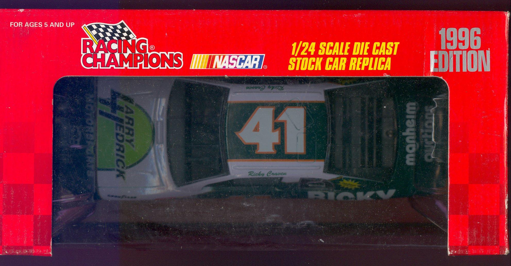 1996 Racing Champions 1:24 #41 R.Craven/Larry Hedrick Racing