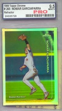 1999 Topps Chrome Baseball #265R Nomar Garciaparra Refractor Pro Mint+ 9.5 AWESOME!!