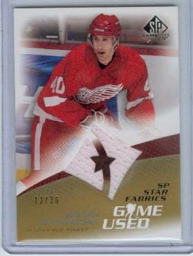 2003-04 SP Game Used Gold #102 Henrik Zetterberg JSY