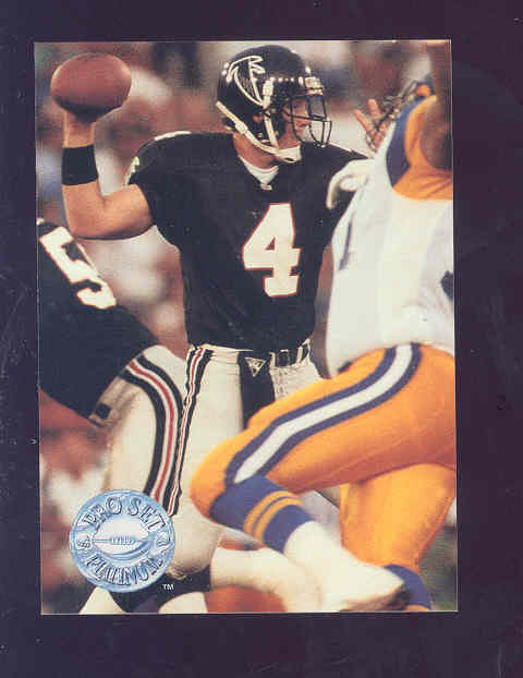 1991 Pro Set Platinum 290 Brett Favre RC