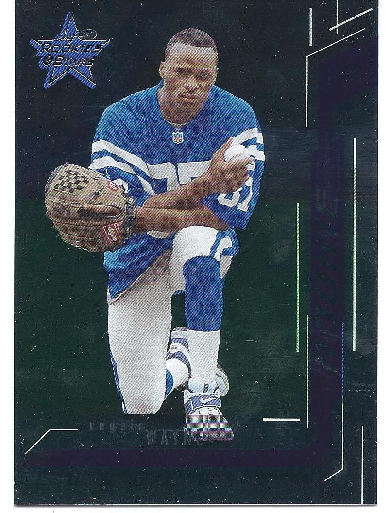 2001 Leaf Rookies and Stars Longevity #179 Reggie Wayne RPS