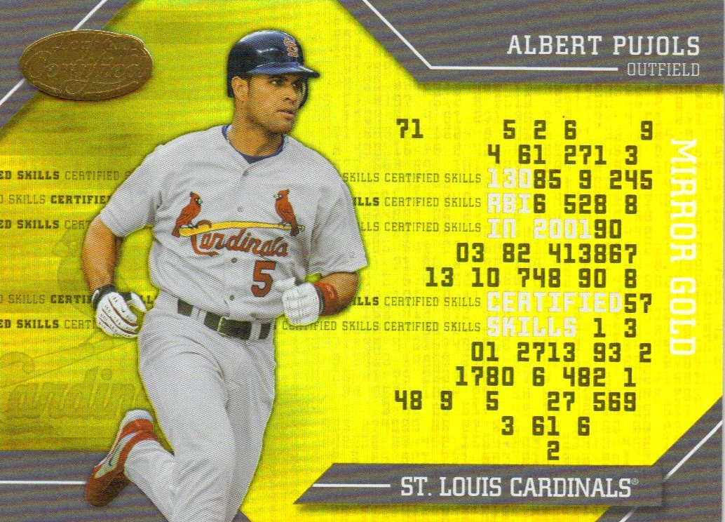 2002 Leaf Certified Skills Gold #11 Albert Pujols