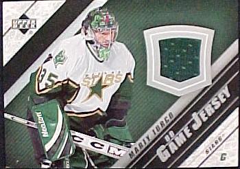 2005-06 Upper Deck Jerseys Series II #J2MT Marty Turco