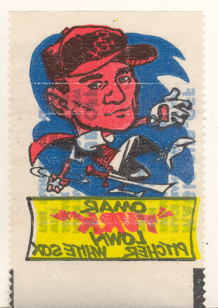 1961 Topps Magic Rub-Offs #35 Turk Lown