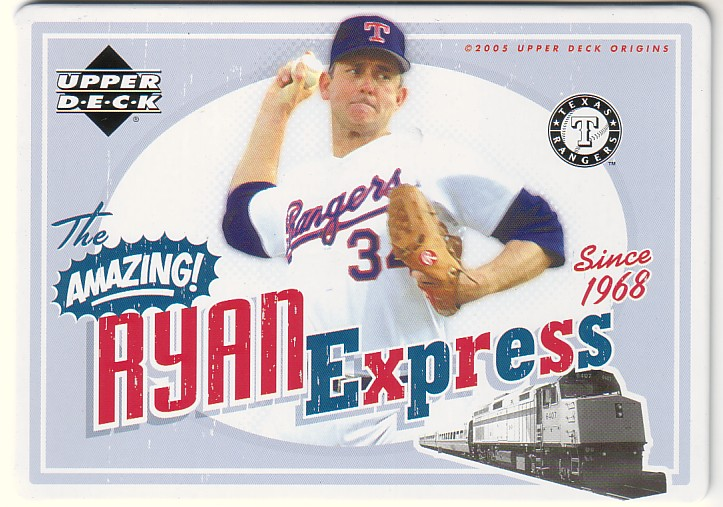 2005 Origins Nostalgic Signs #NR Nolan Ryan
