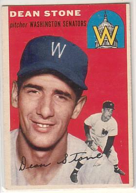 1954 Topps #114 Dean Stone RC
